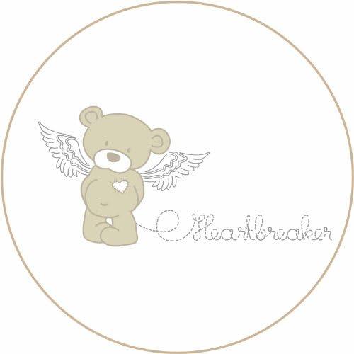 Roba-Kids Heartbreaker Juego de funda de edred/ón y de almohada protector y dosel