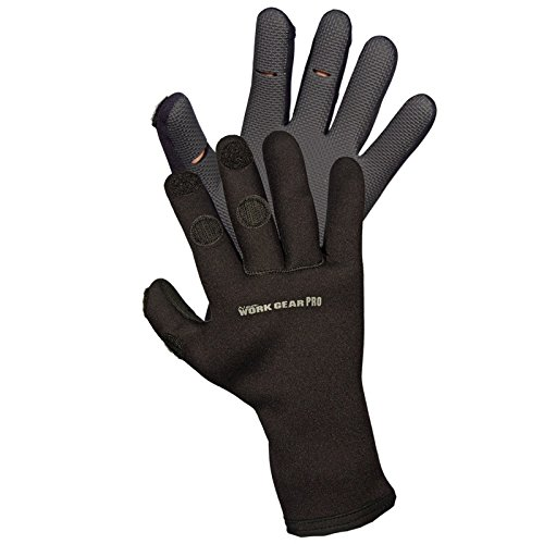 (Gator Thompson Windproof Neoprene Gloves Flip-back Finger Tip 3mm Small)