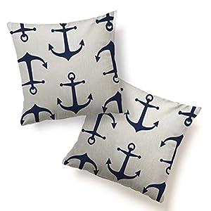 41VyncarJfL._SS300_ 100+ Nautical Pillows & Nautical Pillow Covers