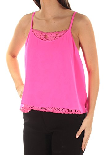 RACHEL Rachel Roy Womens Layered Lace Camisole Top, used for sale  Delivered anywhere in USA