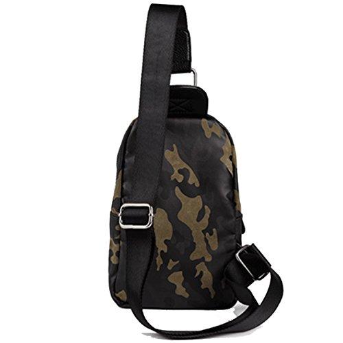 Bolsa Hombre Para Bandolera De Bandolera Deportes camouflage Bolsa Para De RPIgIq