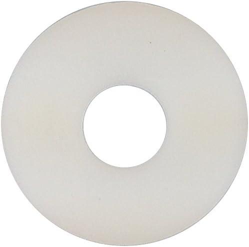 25xM6-25 St/ück gro/ße Kunststoff Unterlegscheibe M6 PA Polyamid Nylon Beilagscheibe DIN9021 M6 Farbe Natur Nylon, M6