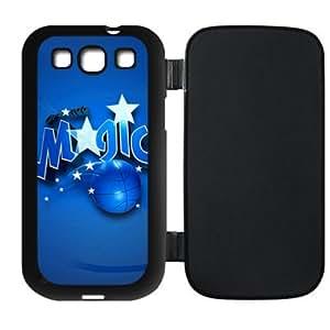 Fashionable designed Samsung Galaxy SIII i9300 Flip Cover Case with Orlando Magic Logo-by Allthingsbasketball