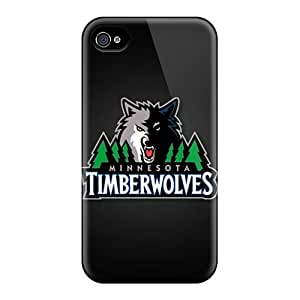 For SashaankLobo Iphone Protective Cases, High Quality For Iphone 6 Minnesota Timberwolves Skin Cases Covers