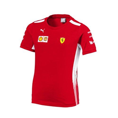 468b3c0f86888 Ferrari Scuderia Formula 1 2018 Kids Team T-Shirt w Sponsors (3-