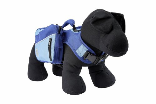 Henry and Clemmies Dog Backpack, Large, Blue by Henry and Clemmies