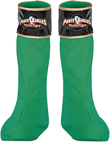 Costume-Footwear Power Ranger Green Boot Covers Halloween Costume ()