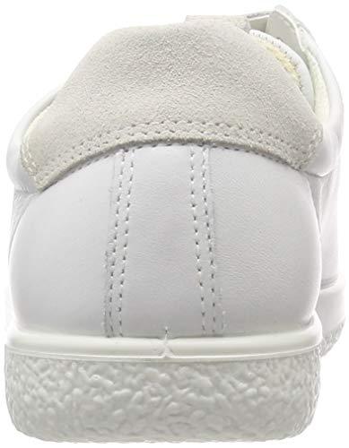 Ladies Soft White 52292 white Basses Ecco 1 shadow Femme Sneakers RxqfwU
