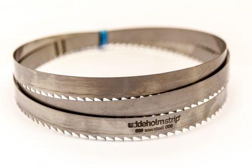3 x SBM Uddeholm Holzsägeband 4730 x 15 x 0,7 mm mit 6 mm Zahnabstand, Bandsägeblatt Sägeband-Manufaktur