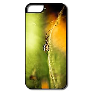 IPhone 5/5S Covers, Striped Spider White/black Cover For IPhone 5S