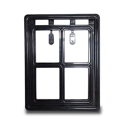 PETLESO-Pet-Screen-Door-Automatic-Lock-Dog-Door-for-Screen-Dog-Door-Outdoor-Large12-x-16