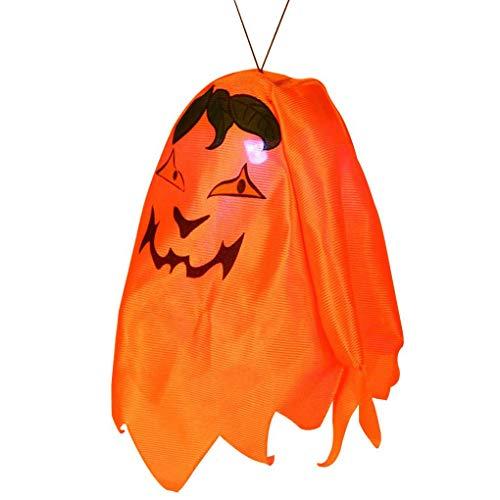 Ghost Plastic Halloween Hanging Door Decorations Wall Signs for Home School Office Party DIY Terror Decor Random Topker -