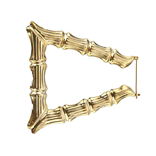 (Earrings, Paymenow Women Bamboo Circle Love Heart Round Shaped Hoops Earrings Romantic Fashion Jewelry (D))