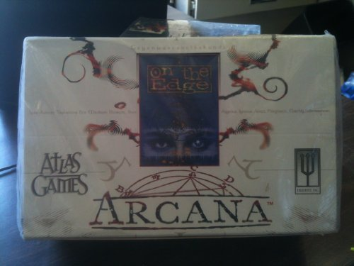 Edge Booster Box (Arcana Box (60 Booster Packs for 'on the edge' card game))