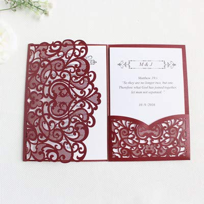 Amazon com : Best Quality - Cards & Invitations - Burgundy