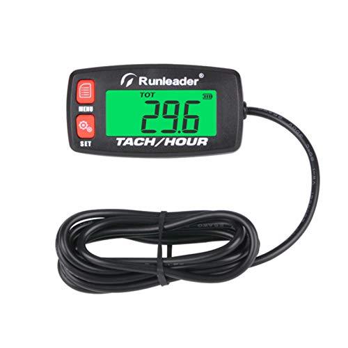 Runleader Cronómetro Digital del Motor, Recordatorio de ...