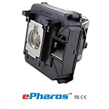 ePharos ELPLP68 / V13H010L68 High Quality Projector Replacement Compatible bulb with Generic housing for EPSON PowerLite Home Cinema 3010/HC3010e/3020 3D/3020e 3D;EPSON EH-TW5900/TW5910/TW6000/TW6000W/TW6100