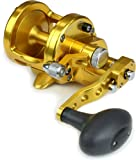 AVET 2-Speed 6.1 & 4.1 Reel, Gold, 300-30 lb