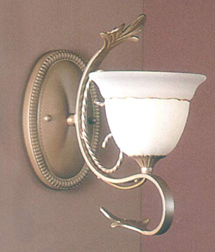 Classic Lighting 4110 PG Treviso, Wrought Iron, Sconce/WallBracket, Pearlized Gold