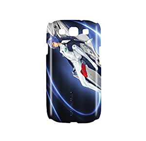 Evangelion Rei Ayanami Snap on Plastic Case Cover Compatible with Samsung Galaxy S3 GS3