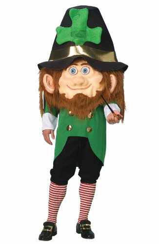 Leprechaun Movie Halloween Costumes (Forum Parade Pleasers Oversized Leprechaun Costume, Green, Adult)