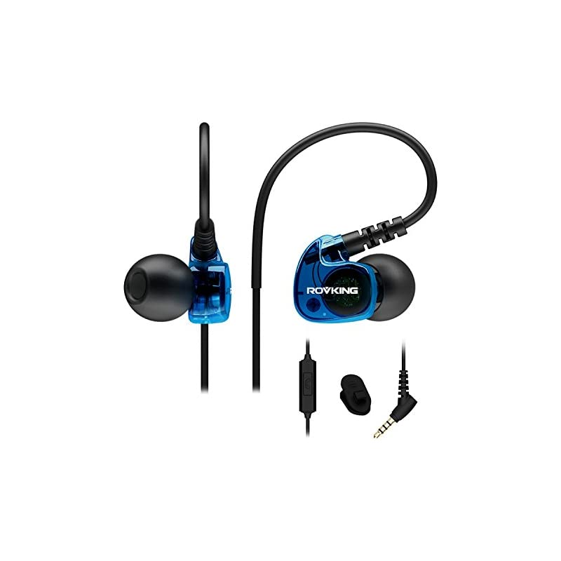 ROVKING Wired Sweatproof Earhook in Ear