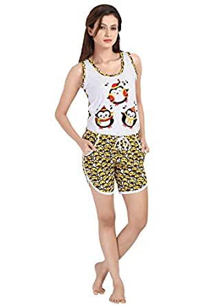 Dj W013- Top And Shorty Set For Women