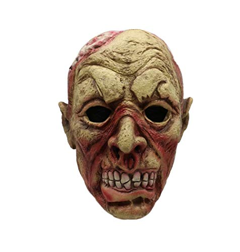 Halloween Decorations Latex Scary Horror Masks Airsoft Mask Headgears Zombie Devil Skull Cosplay Props Mascaras Disfraces]()
