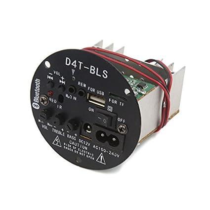 DealMux DC 12V Bluetooth Áudio amplificador de potência estéreo Módulo Board para Car Auto