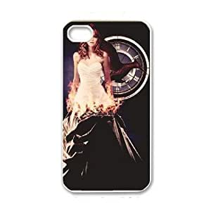 iPhone 4 4s White Cell Phone Case The Hunger Games Phone Cases Fashion