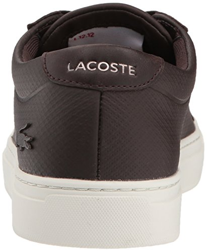 Baskets L.12.12 Lacoste Hommes Dkbrw / Offwht Cuir