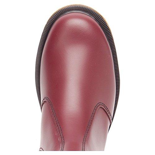 Dr. Martens Heren 2976 Boot Kersenrode Glad Leer
