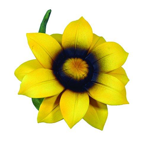 - Napoleon Capodimonte Porcelain Daffodil Stem - Yellow