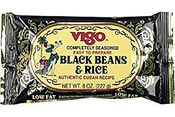 Vigo Black Beans & Rice Dinner 6oz 6 Pack (Authentic Puerto Rican Rice And Beans Recipe)