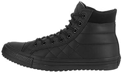 black and grey converse