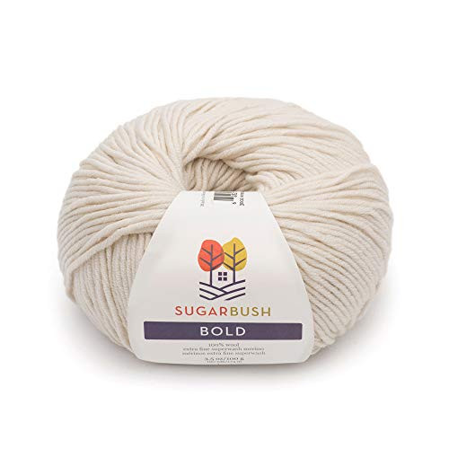 Sugar Bush Yarn Bold Knitting Worsted Weight, Dover's Sand ()