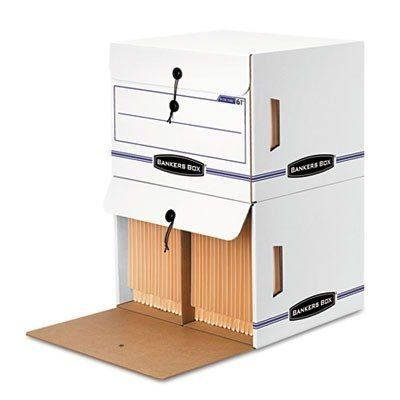 Bankers Box Side Tab Storage - FEL00061 - Bankers Box Side-Tab File Storage Box