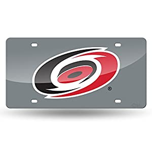 Carolina Hurricanes Official NHL License Plate Laser by Rico 165116