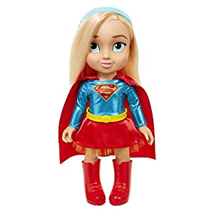"41VyzjfU11L. SS300 DC Super Hero Girls 64026 Supergirl Dc Toddler Dolls - 15"" Supergirl Toddler Doll, Includes: 5 Pieces"