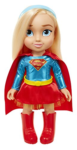 "DC Super Hero Girls 64026 Supergirl Dc Toddler Dolls - 15"" Supergirl Toddler Doll, Includes: 5 Pieces"