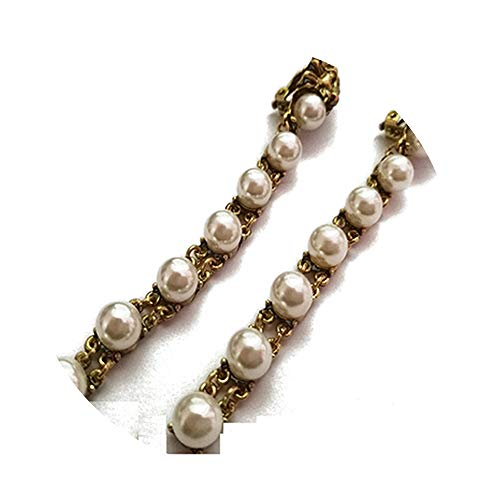 CAIYCAI New Baroque G Pearl Stud Earrings For Women for sale  Delivered anywhere in USA