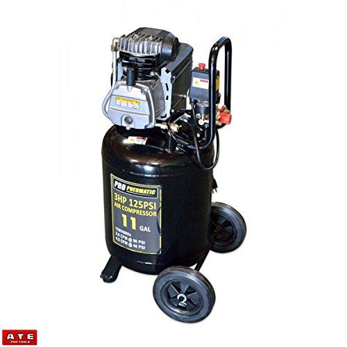11 Gallon Air Compressor Portable Roll Away Air Compressor