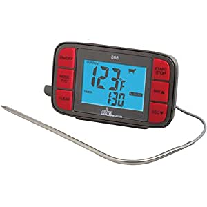TAYLOR 808OMG Digital Grill Thermometer with Probe & Timer Home & Garden