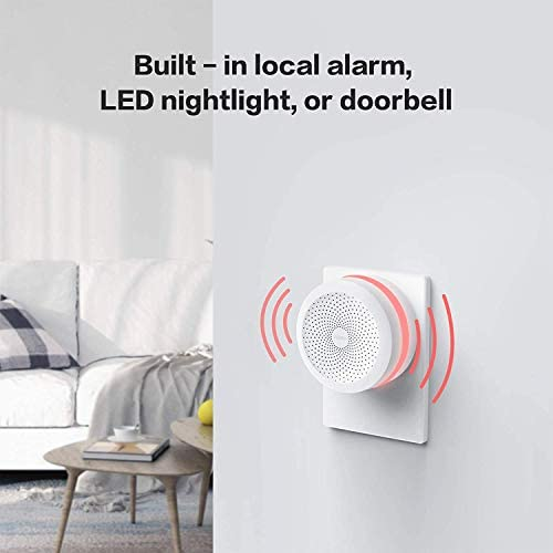Aqara Hub, Wireless Smart Home Bridge for Alarm System, Home Automation, Remote Monitor and Control, Works with Apple HomeKit, Google Assistant, and Compatible with Alexa 41Vz 2BrXjunL