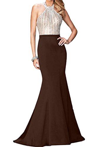 Abendkleid Ivydressing Festkleid Traube Paikkette Neckholder Hochwertig Rueckenfrei Promkleid Steine Damen Partykleid rwzRTWqBrA