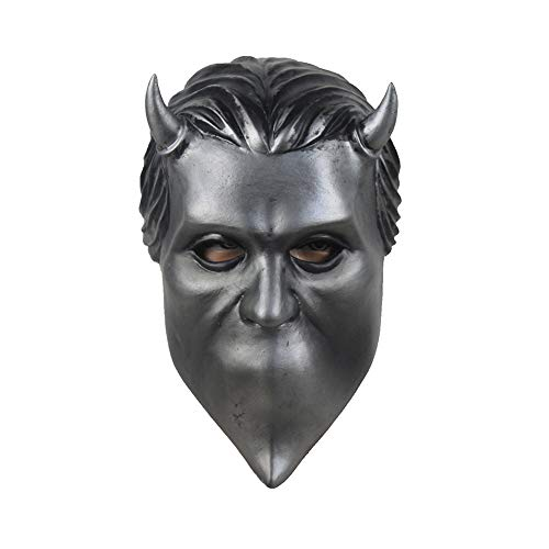 Mokna Nameless Ghouls Mask Deluxe Latex Ghost BC Band Mask Cosplay Accessory