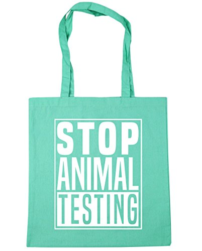 x38cm Bag Gym Beach litres 42cm Stop Testing Tote Mint Animal Shopping HippoWarehouse 10 X0FqwZxzn