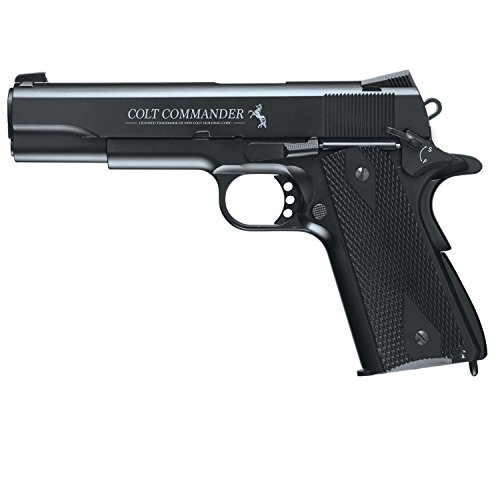 Umarex Colt Commander .177 Caliber Steel BB Air Gun Pistol - 1911 Co2 Pistol