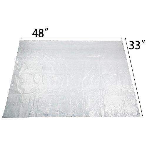 [해외]Ggbin 42 갤런 대형 쓰레기 봉투, 흰색, 65 카운트/Ggbin 42 Gallon Large Trash Bags, White, 65 Counts