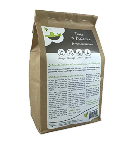 Eco … 100 De Terre Diatomée Biologique Emballage 1kg conseils® Insecticide 1kg pour Écologique Protecteur Alimentaire Et Animaux qZUrq